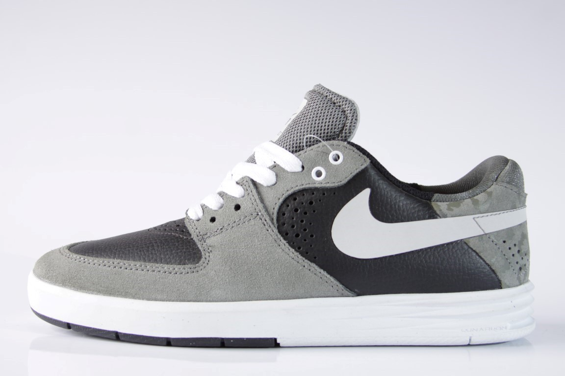 Tênis Nike SB - Paul Rodriguez 7 MD BS Gry/LT BS Gry  - No Comply Skate Shop
