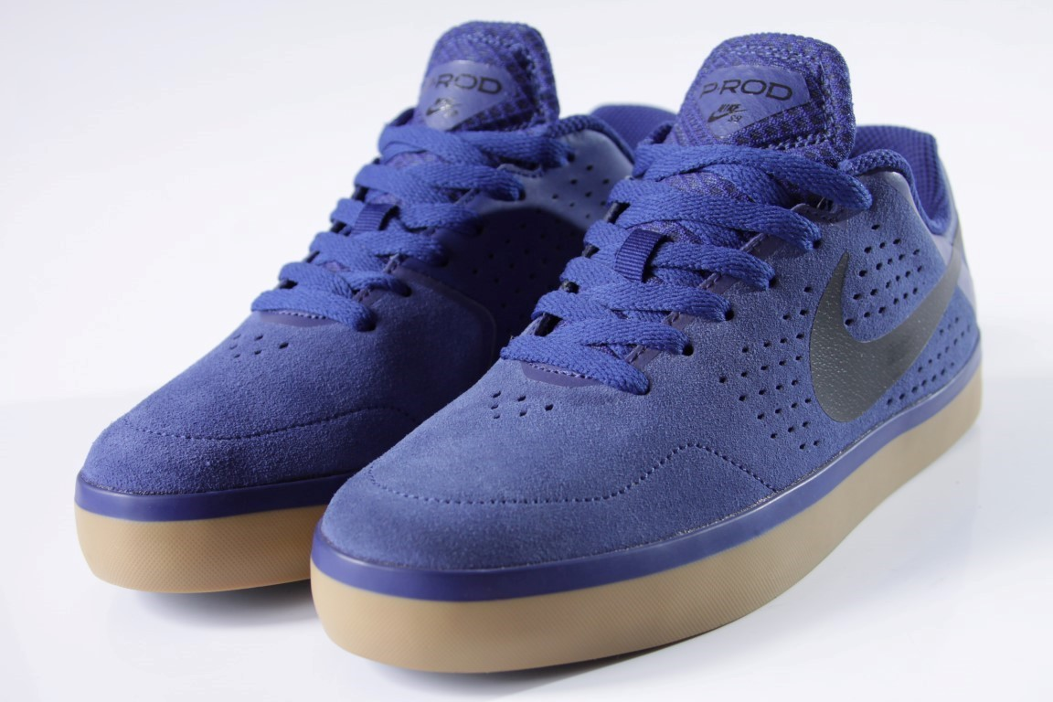 Tênis Nike SB - Paul Rodriguez CTD LR DP Royal Blue/Blk-Gm  - No Comply Skate Shop