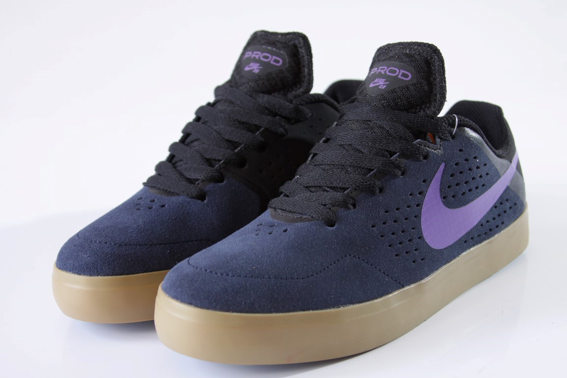 Tênis Nike SB - Paul Rodriguez CTD LR Obsidian/Hyper Grape-Black  - No Comply Skate Shop