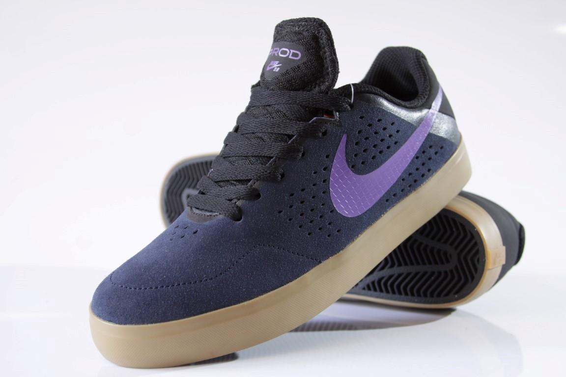 Tênis Nike SB - Paul Rodriguez CTD LR Obsidian/Hyper Grape-Black  - No Comply Skate Shop