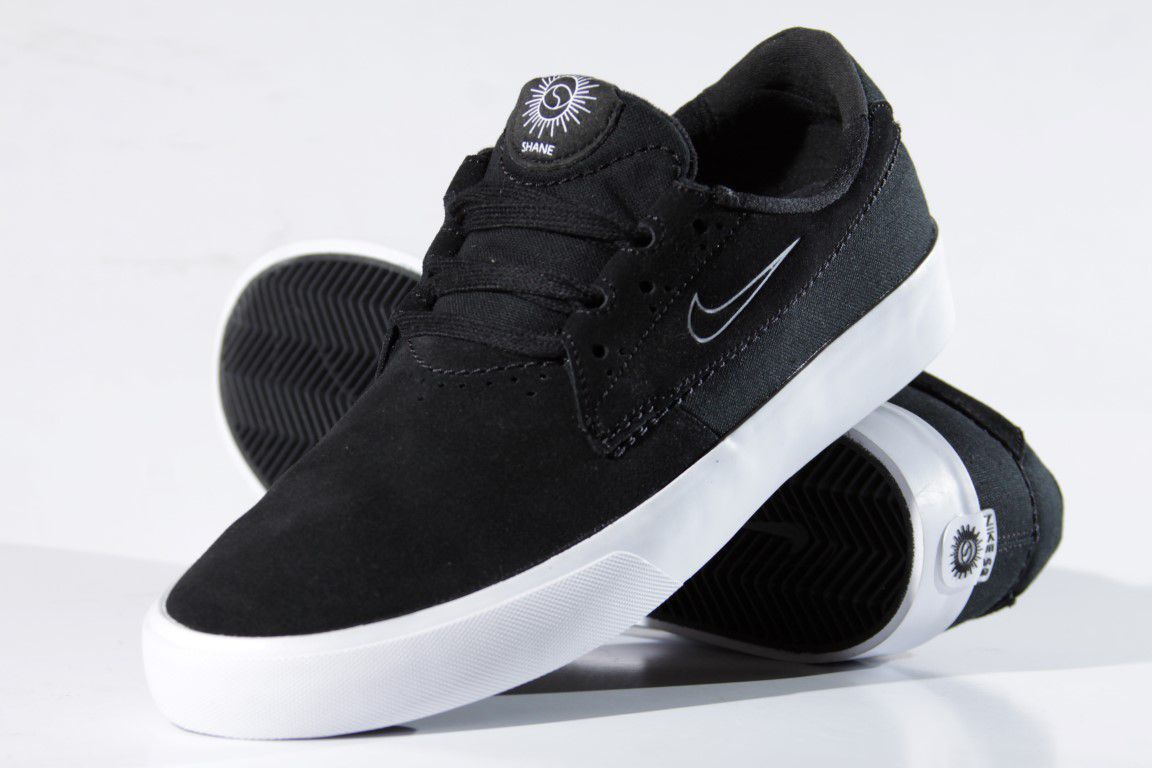 Tênis Nike SB - Shane Black/White  - No Comply Skate Shop