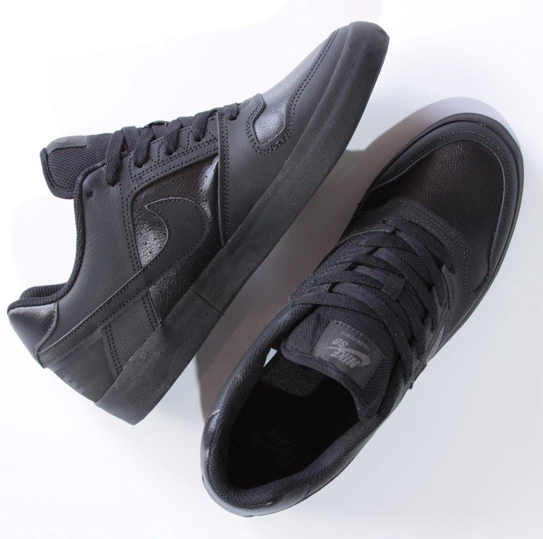 Tênis Nike SB - Zoom Delta Force Vulc Black/Black-Anthracite  - No Comply Skate Shop