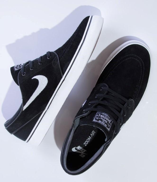 Tênis Nike SB - Zoom Stefan Janoski Black/White  - No Comply Skate Shop