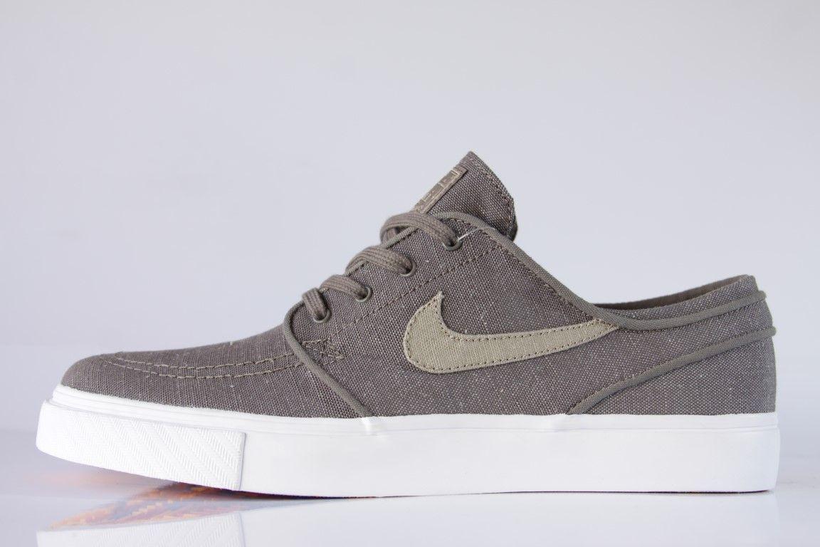 Tênis Nike SB - Zoom Stefan Janoski Canvas Deconstructed Ridgerock/Khaki  - No Comply Skate Shop