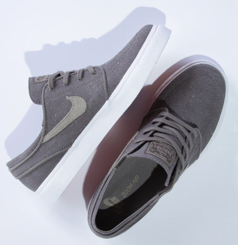 Tênis Nike SB - Zoom Stefan Janoski Canvas Deconstructed Ridgerock/Khaki - No Comply Skate Shop