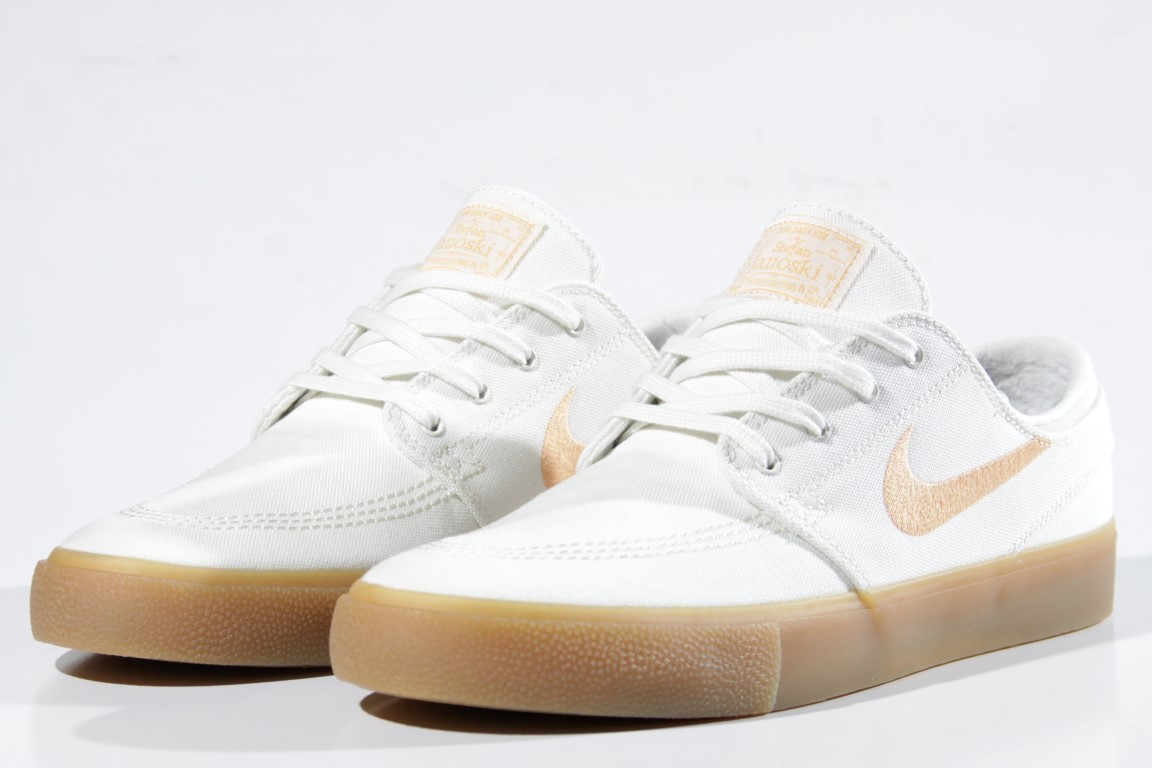 Tênis Nike SB - Zoom Stefan Janoski Canvas RM Sail/Gelati  - No Comply Skate Shop