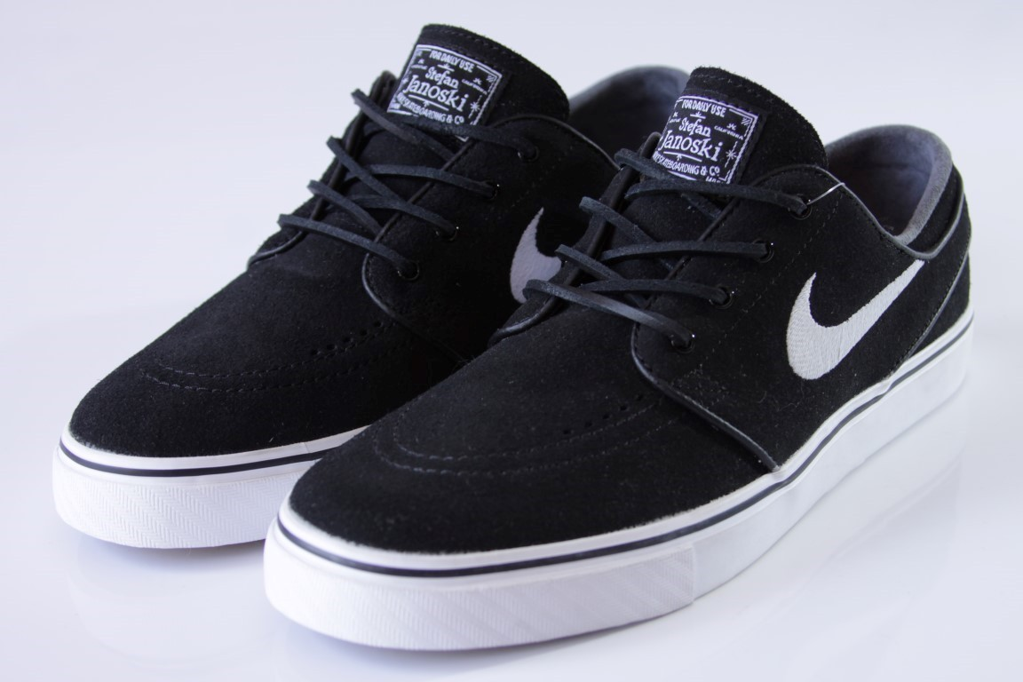 Tênis Nike SB - Zoom Stefan Janoski OG Black/White-Gum - No Comply Skate Shop