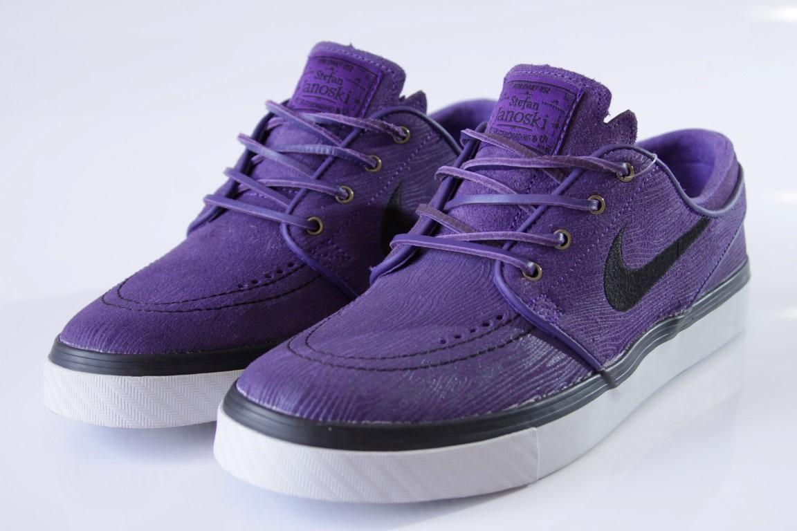 Tênis Nike SB - Zoom Stefan Janoski PR SE Court Purple/Blk-Lght  - No Comply Skate Shop