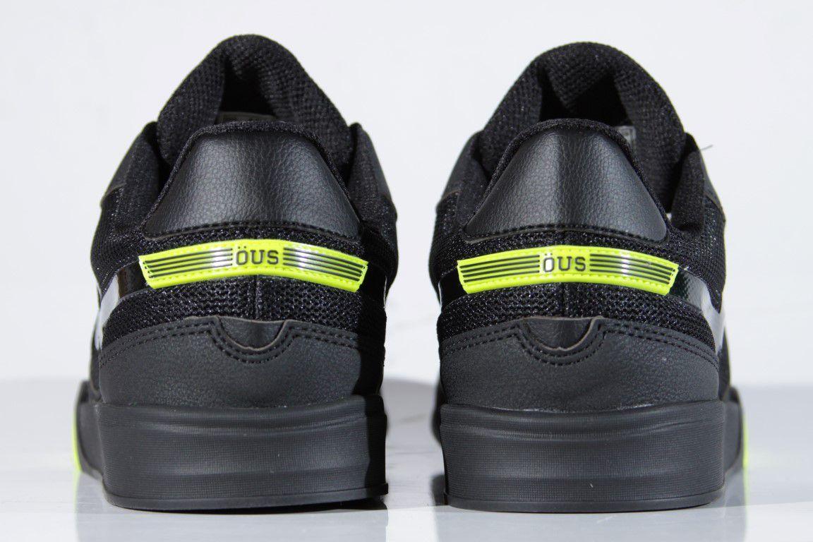 Tênis Öus - Imigrante Preto Volt OE  - No Comply Skate Shop