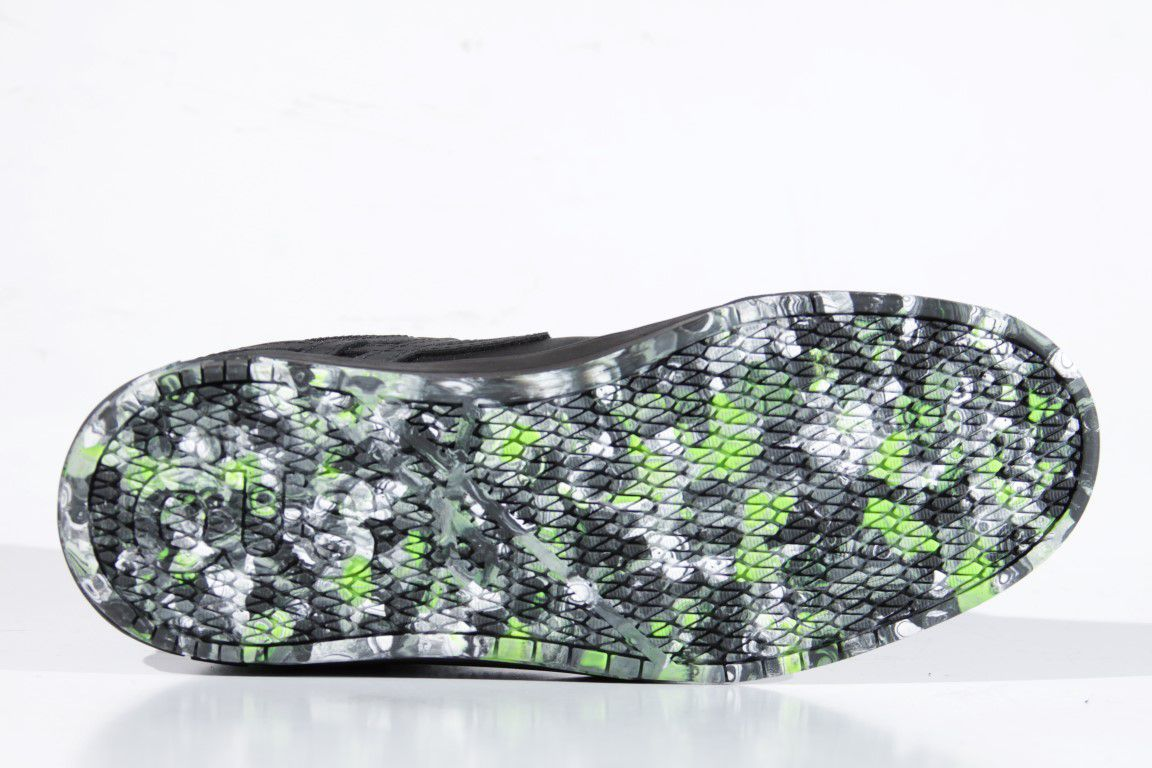 Tênis Öus - Naccarato Black/Green Camo O.E.  - No Comply Skate Shop