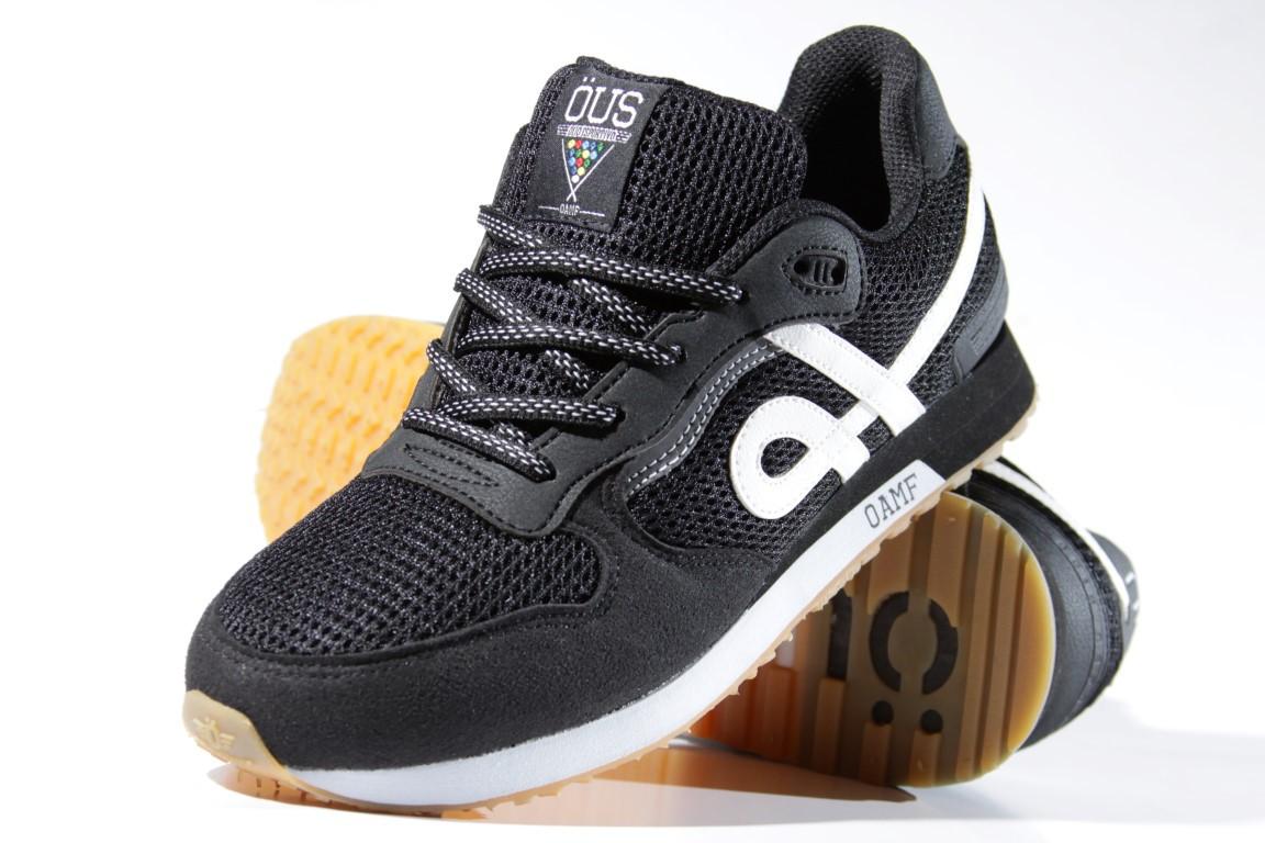 Tênis Öus - Oamf Preto/Branco O.E  - No Comply Skate Shop