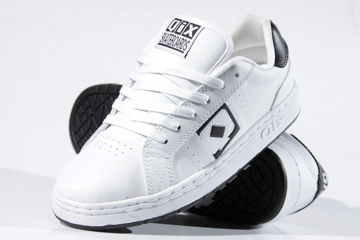 Tênis Qix - Combat Retro Branco/Preto  - No Comply Skate Shop