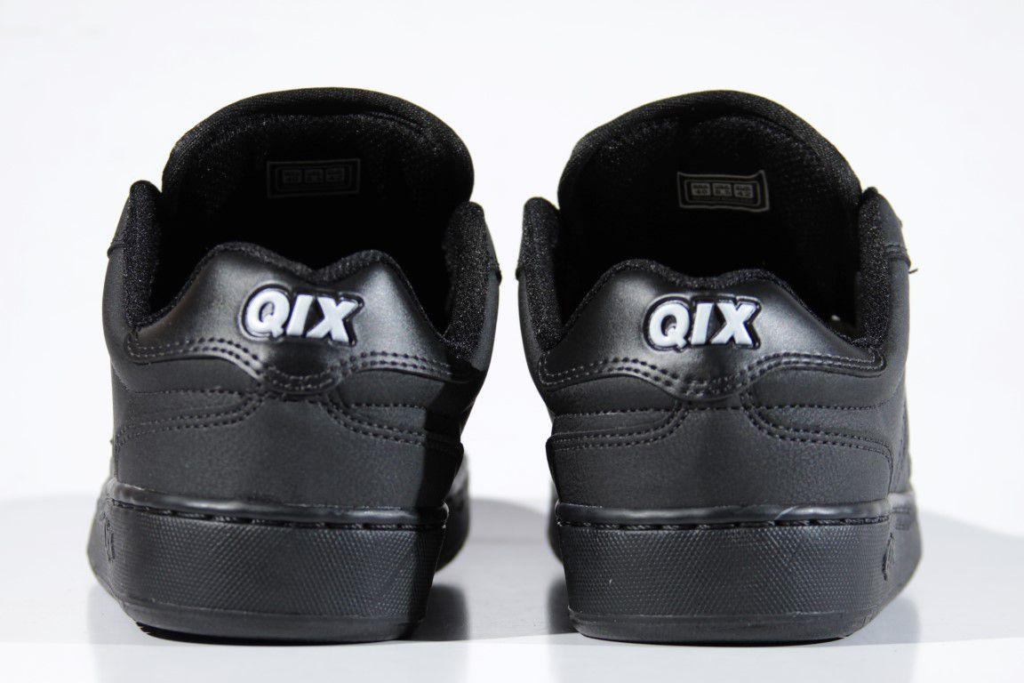 Tênis Qix - Combat Retro Preto/Preto  - No Comply Skate Shop