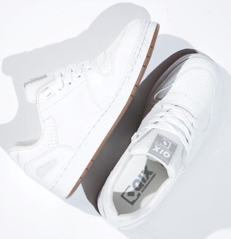 Tênis Qix - Full Branco/Branco  - No Comply Skate Shop