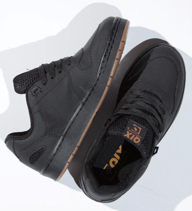 Tênis Qix - Full Preto/Preto  - No Comply Skate Shop