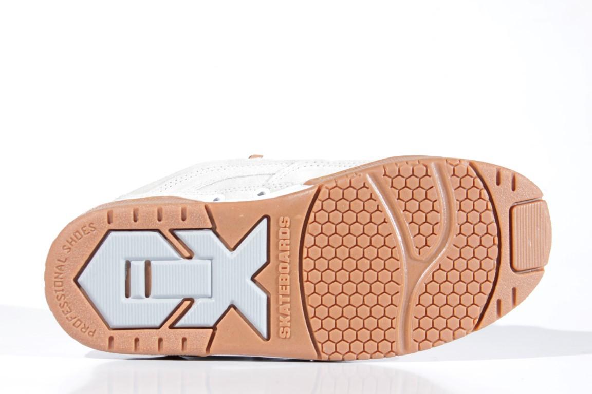 Tênis Qix - Hexagon Alvejado/Branco/Natural  - No Comply Skate Shop