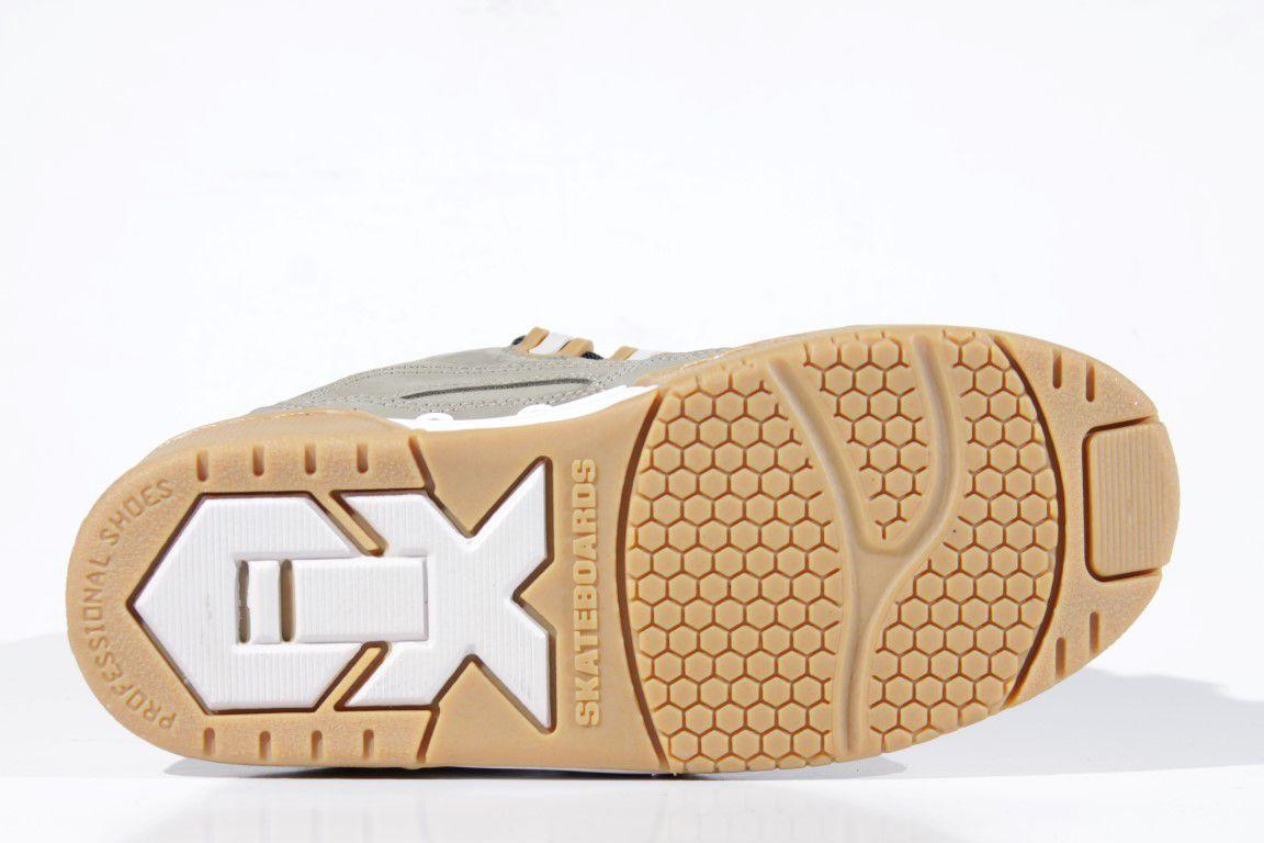 Tênis Qix - Hexagon Chumbo/Natural  - No Comply Skate Shop