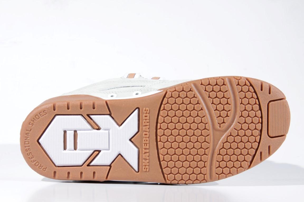 Tênis Qix - Hexagon Nobuck Alvejado/Branco/Natural  - No Comply Skate Shop