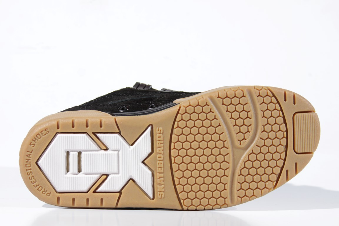 Tênis Qix - Hexagon Preto/Natural  - No Comply Skate Shop