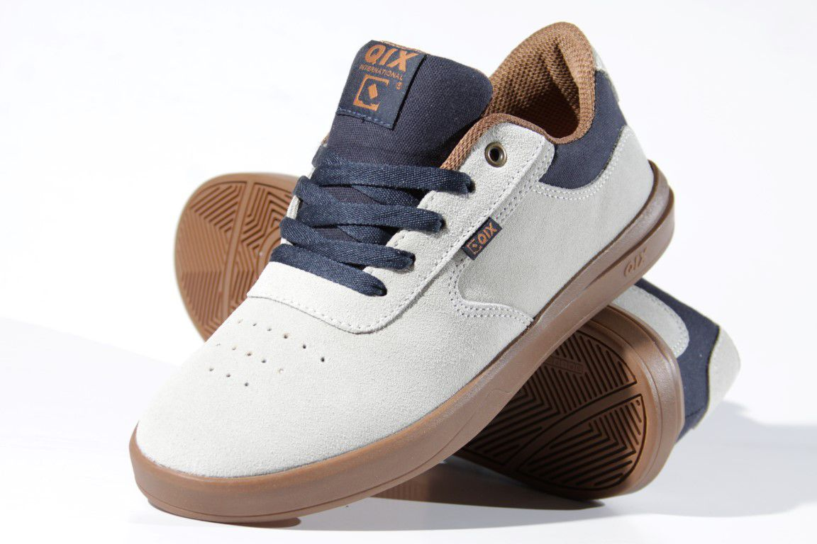 Tênis Qix - Les Corts Cinza/Marinho  - No Comply Skate Shop