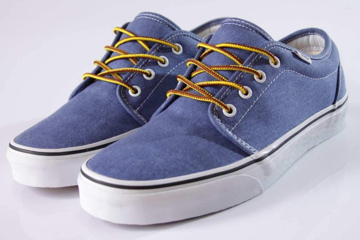 Tênis Vans - 106 Vulcanized (Washed) Limoges - No Comply Skate Shop