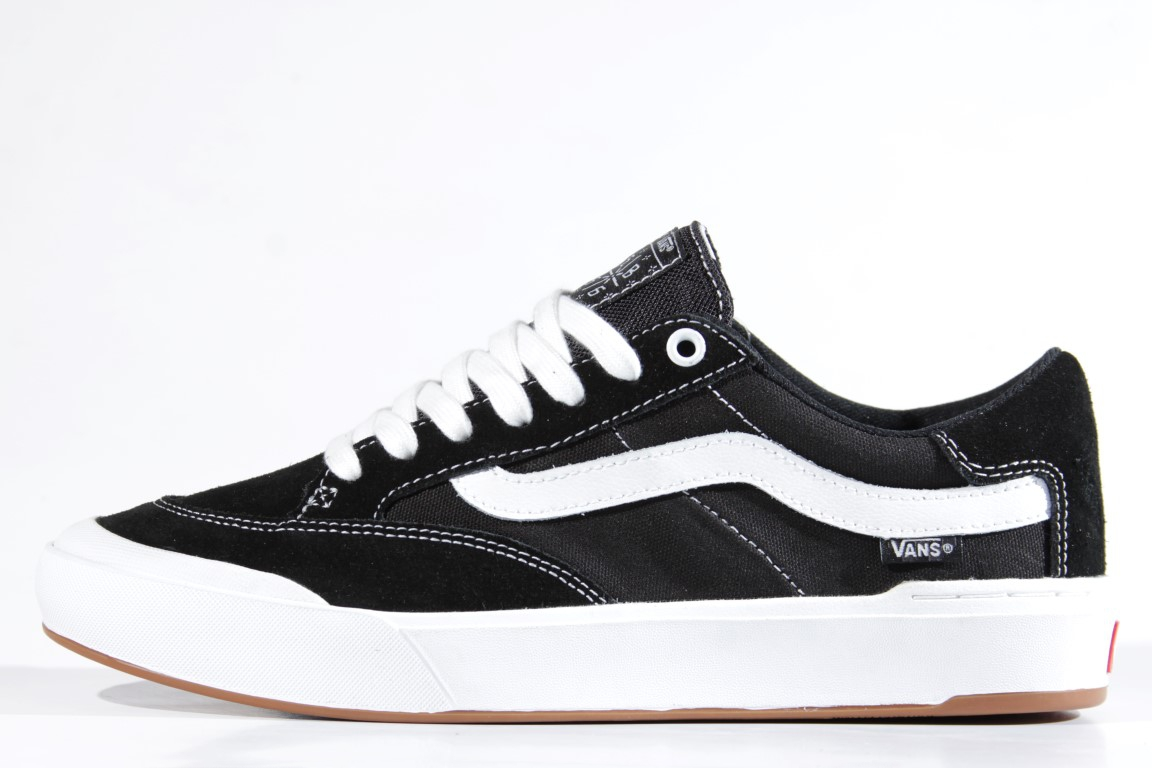 Tênis Vans - Berle Pro Black/White  - No Comply Skate Shop