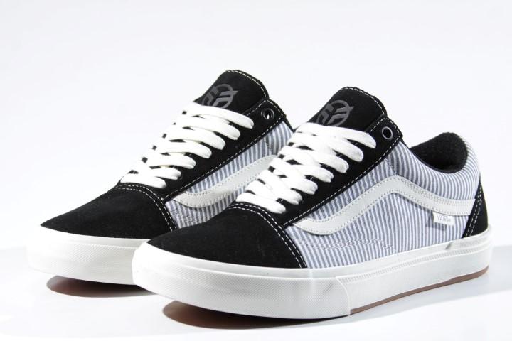 Tênis Vans - BMX Old Skool (Federal) Black/Blue Pinstripe  - No Comply Skate Shop