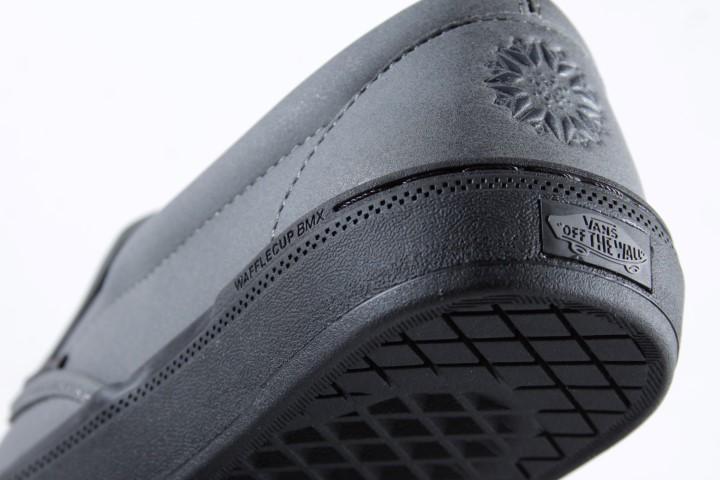Tênis Vans - BMX Slip-On Pro (Dennis Enarson) Pewter/Black  - No Comply Skate Shop