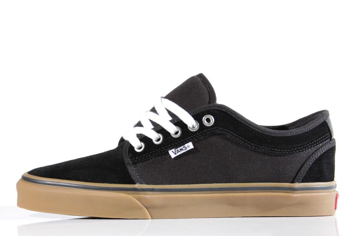 Tênis Vans - Chukka Low Black/Black/Gum  - No Comply Skate Shop