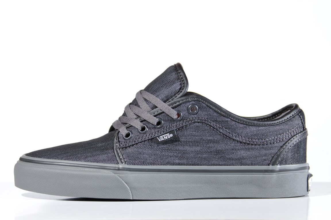 Tênis Vans - Chukka Low (Denim) Black/Pewter  - No Comply Skate Shop