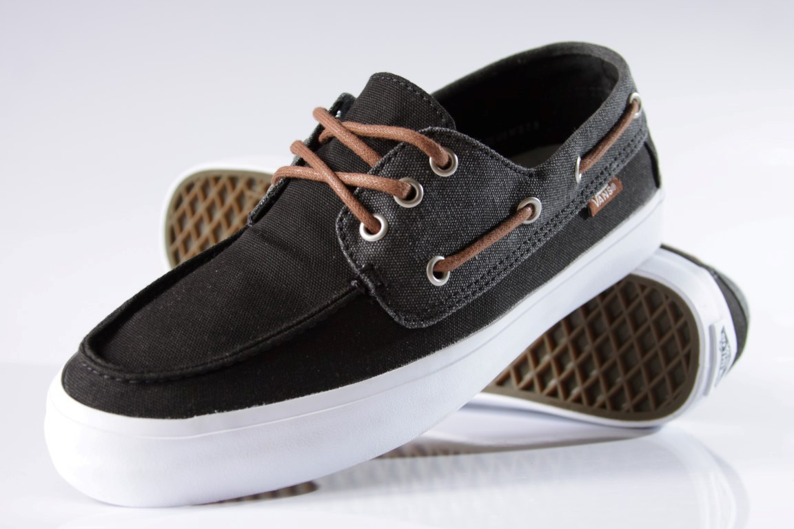 Tênis Vans - M Chauffeur SF (Washed) Black  - No Comply Skate Shop