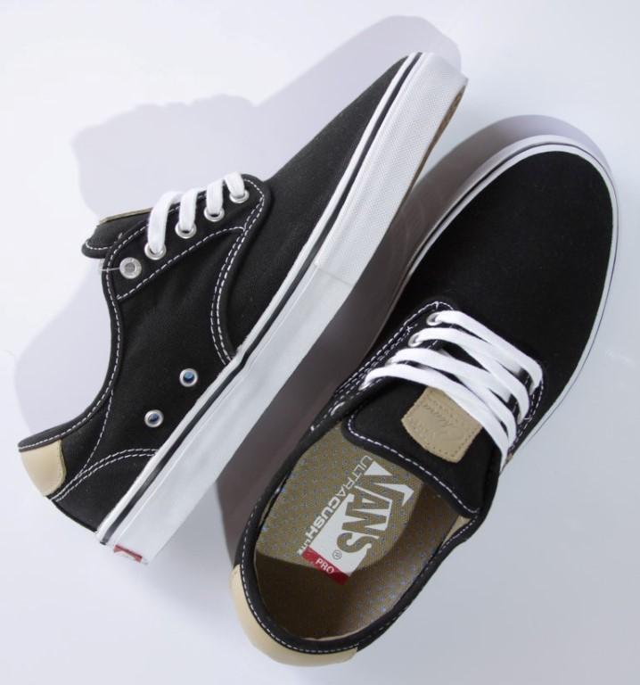 Tênis Vans - M Chima Ferguson Pro Black/Tan/White  - No Comply Skate Shop