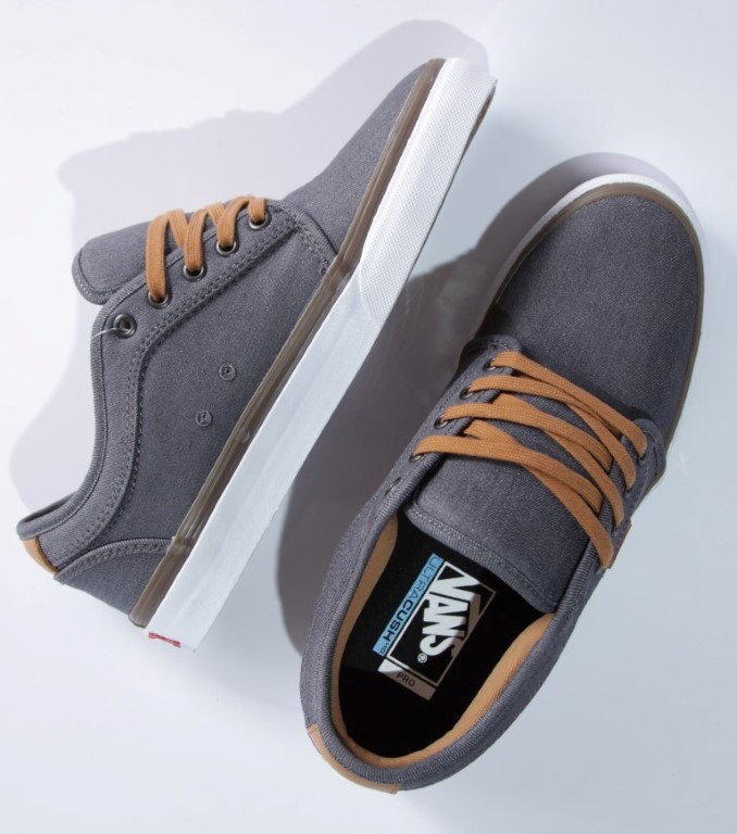 Tênis Vans - M Chukka Low Pro (Denim) Pewter  - No Comply Skate Shop