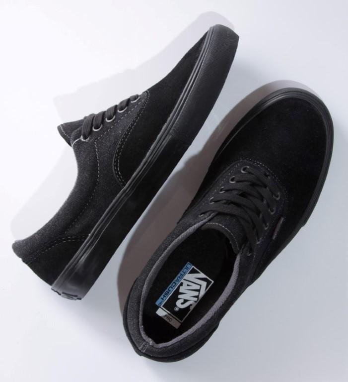 Tênis Vans - M Era Pro Blak/Black  - No Comply Skate Shop