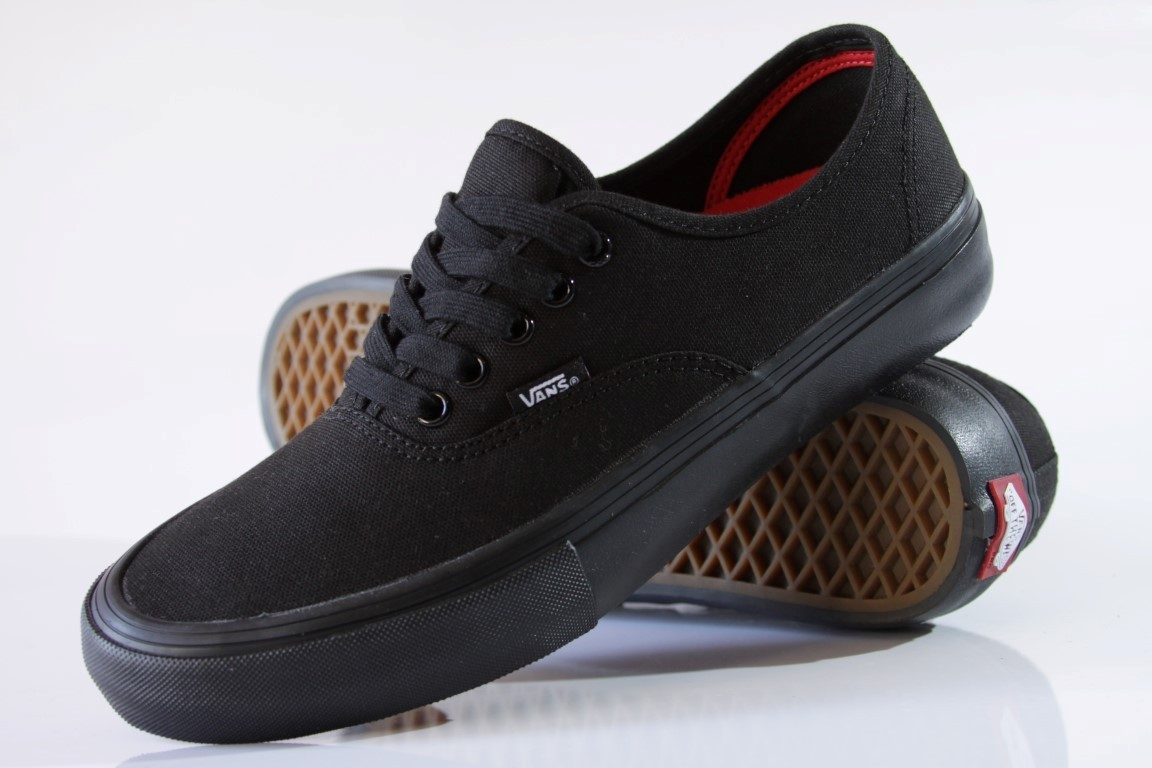 Tênis Vans - MN Authentic Pro Black/Black  - No Comply Skate Shop