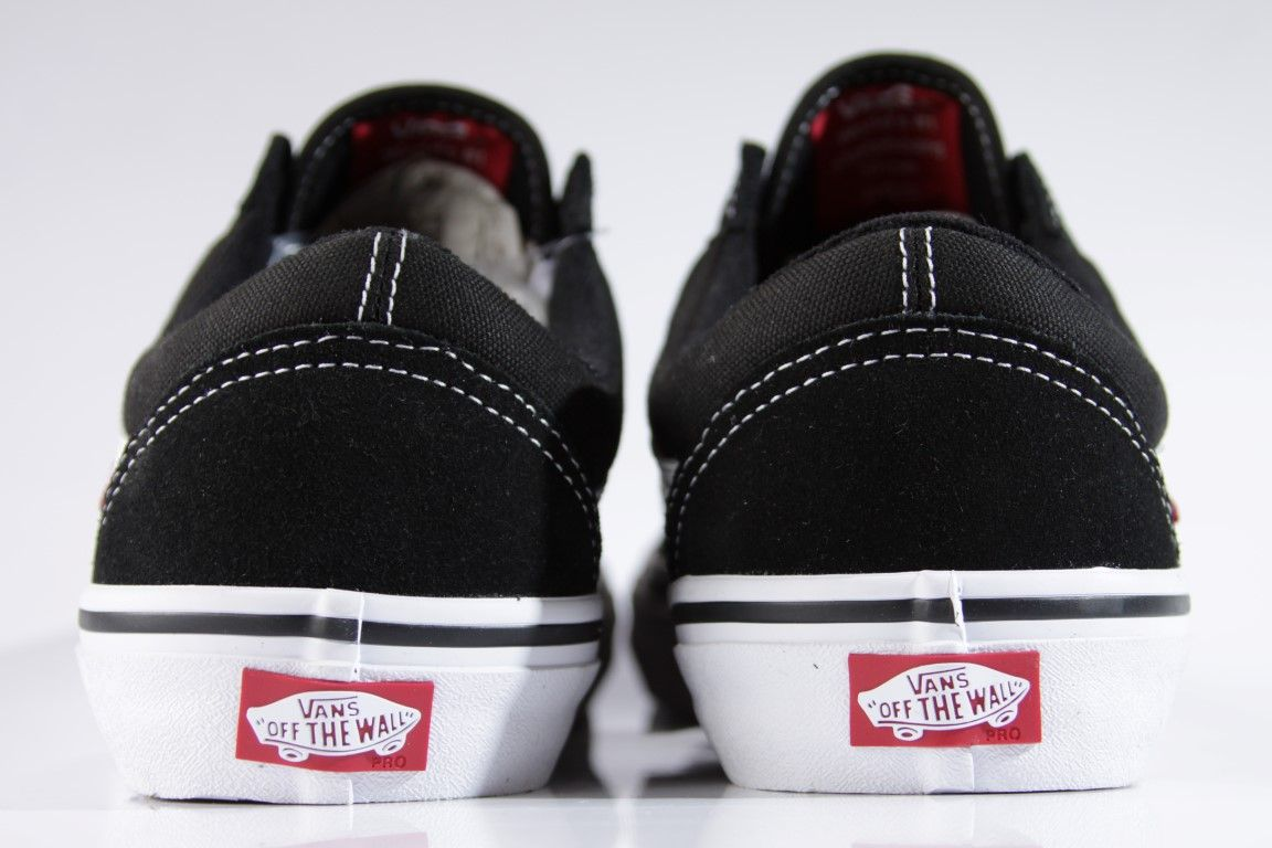 Tênis Vans - MN Old Skool Pro Black/White - No Comply Skate Shop