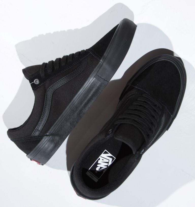 Tênis Vans - MN Old Skool Pro Blackout  - No Comply Skate Shop