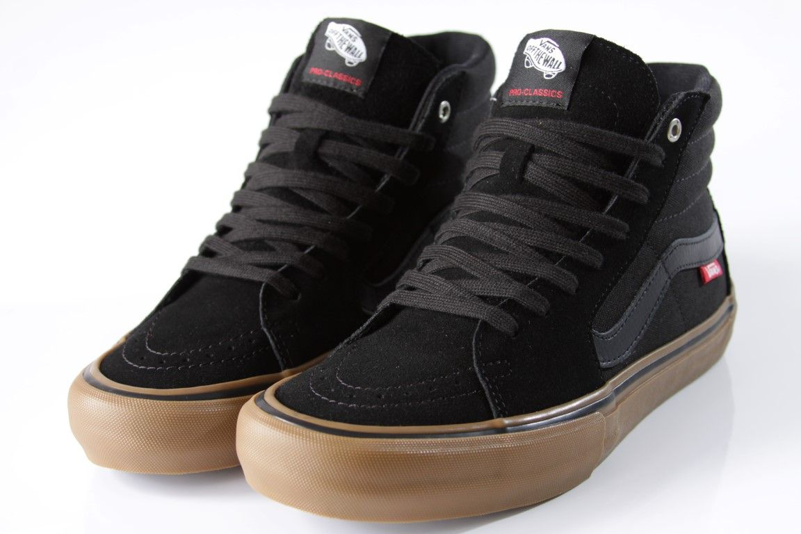 Tênis Vans - MN SK8-High Black/Gum  - No Comply Skate Shop