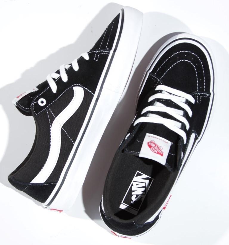 Tênis Vans - MN SK8-Low Pro Black/White  - No Comply Skate Shop