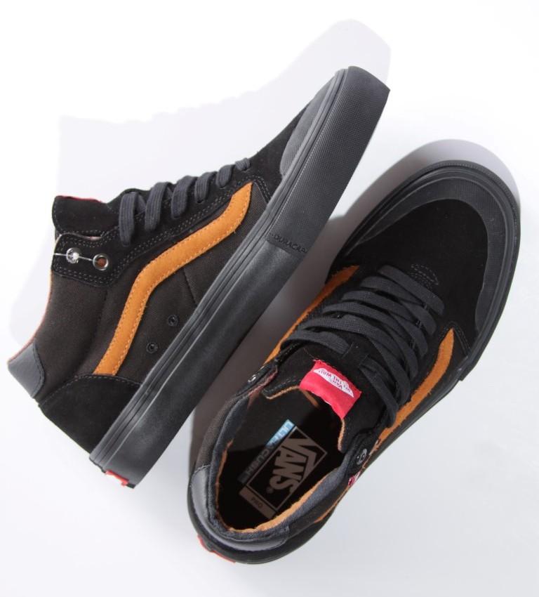Tênis Vans - MN Style 112 Mid Pro (Dakota Roche) Black  - No Comply Skate Shop