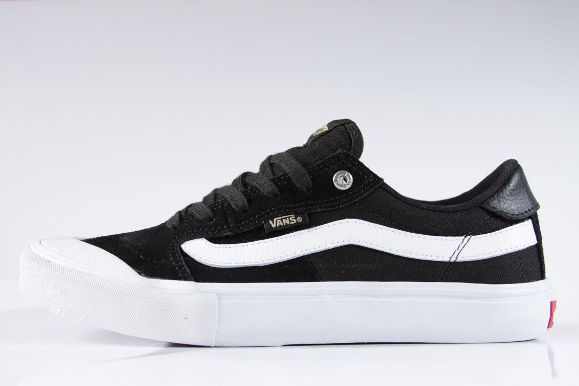 Tênis Vans - MN Style 112 Pro Black/White/Khaki  - No Comply Skate Shop
