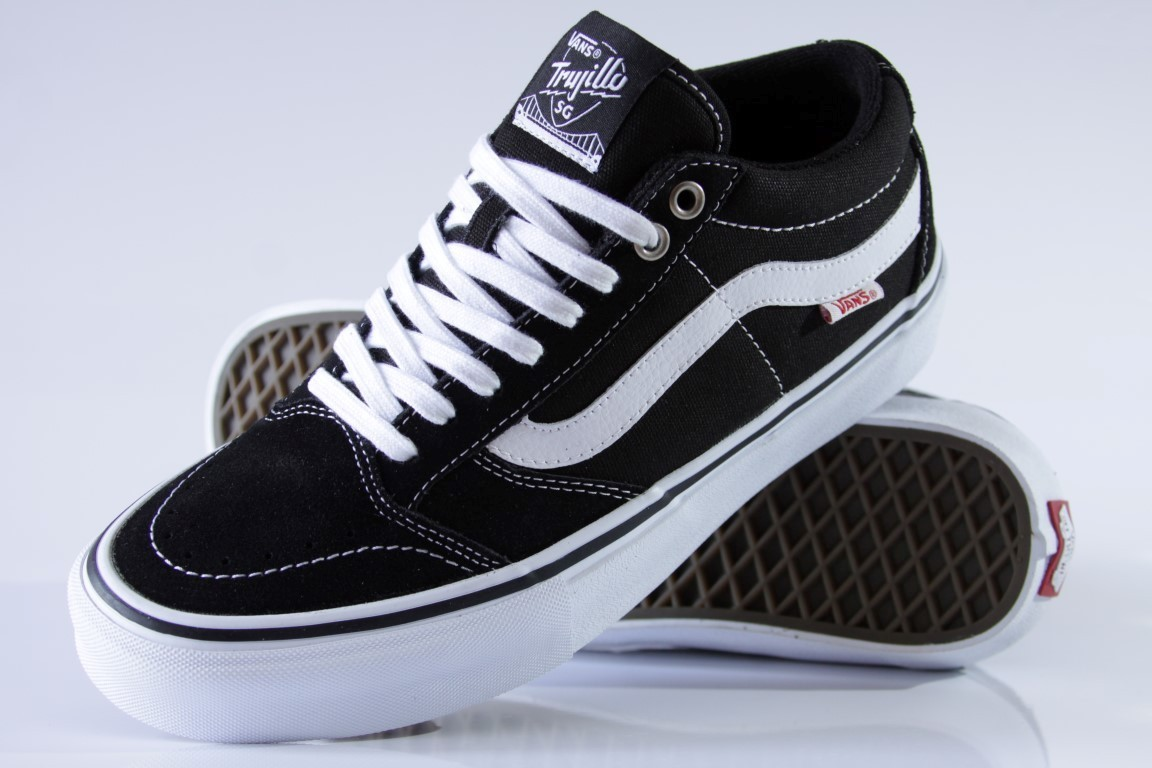 Tênis Vans - MN TNT SG Black/White  - No Comply Skate Shop