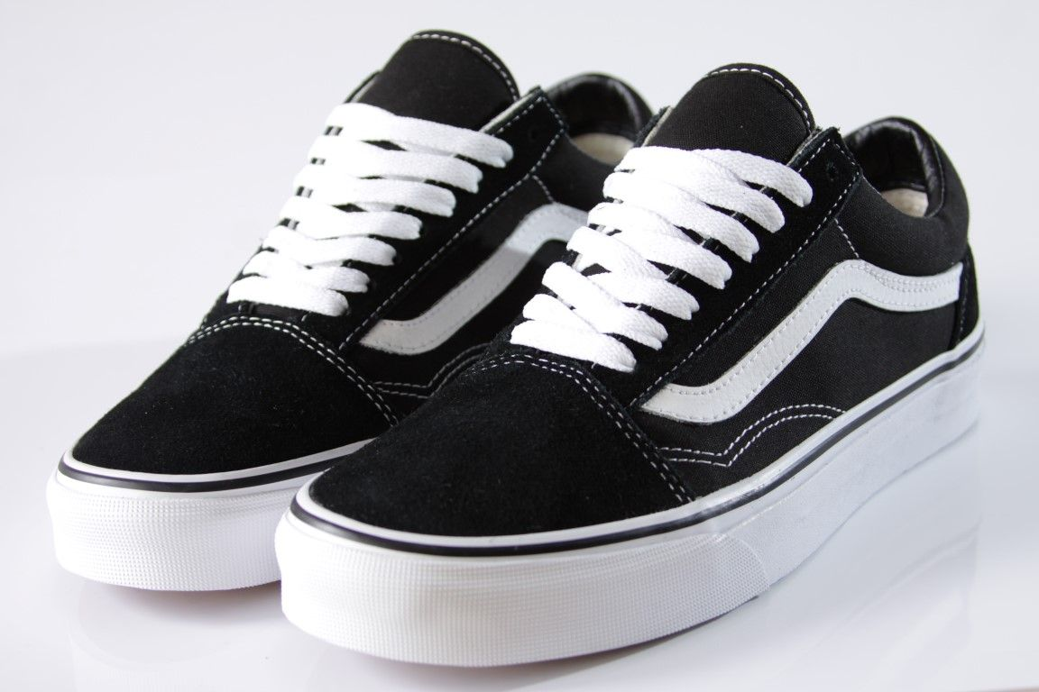 Tênis Vans - Old Skool Black/White - No Comply Skate Shop