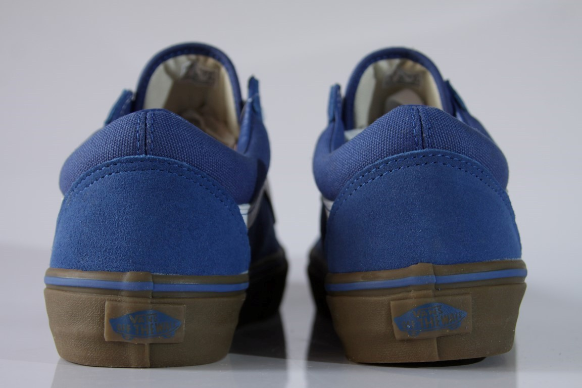 Tênis Vans - Old Skool (Gumsole) Olympian Blue/Medium Gum  - No Comply Skate Shop