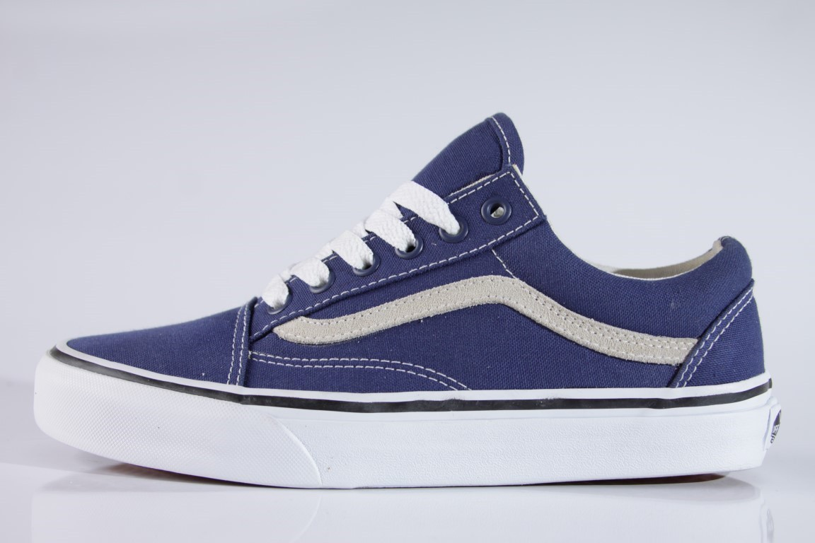 Tênis Vans - Old Skool Twilight Blue/True White  - No Comply Skate Shop