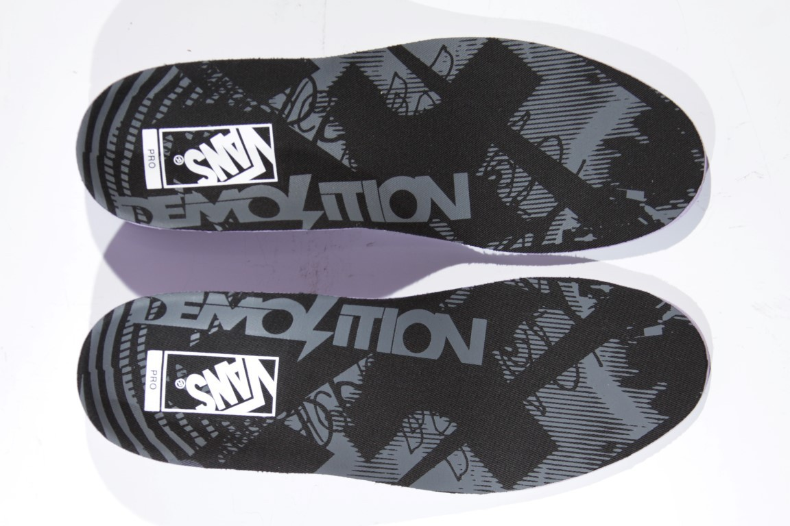 Tênis Vans - SK8-High Pro BMX (Demolition) Black/White  - No Comply Skate Shop