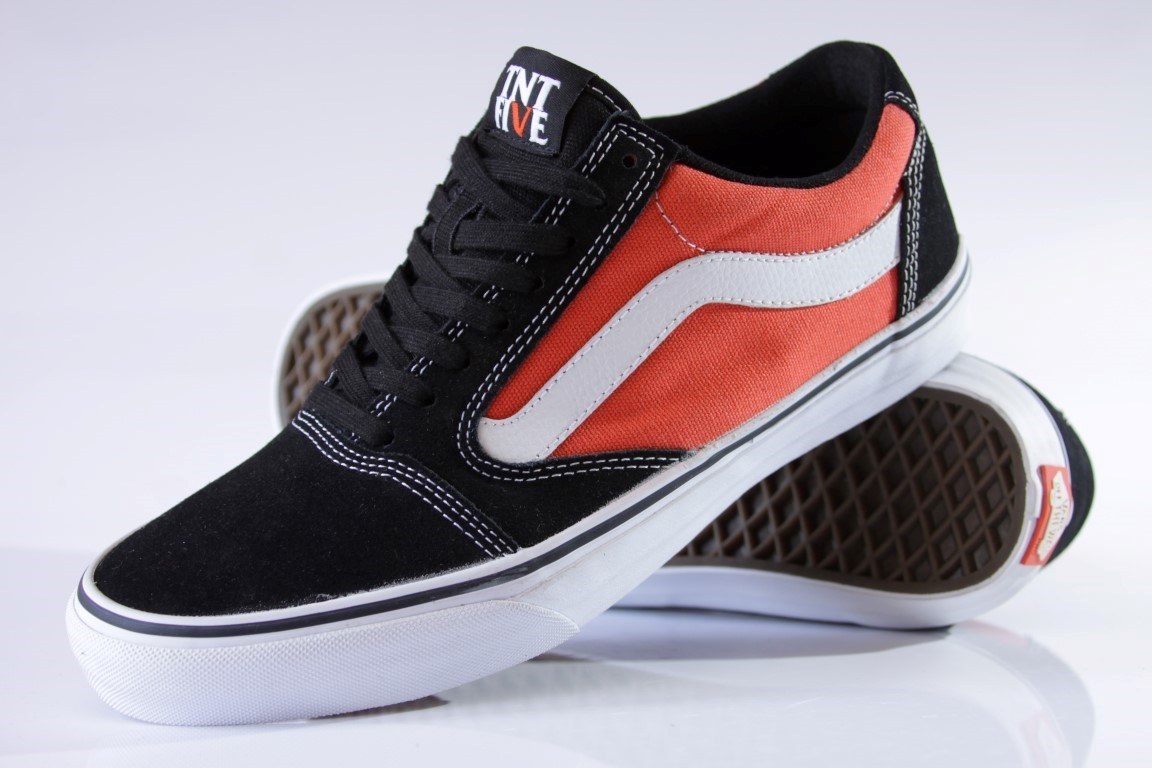 Tênis Vans - TNT 5 Black/Orange  - No Comply Skate Shop