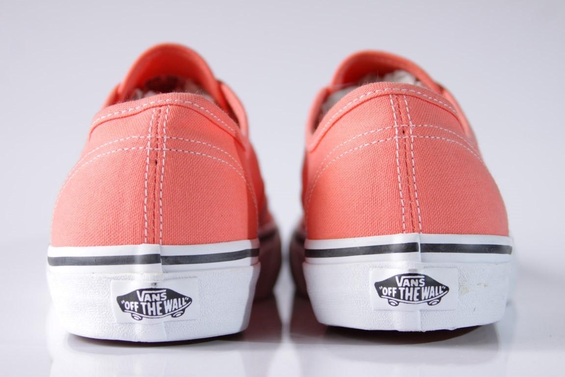 Tênis Vans - U Authentic Fusion Coral/True Coral  - No Comply Skate Shop