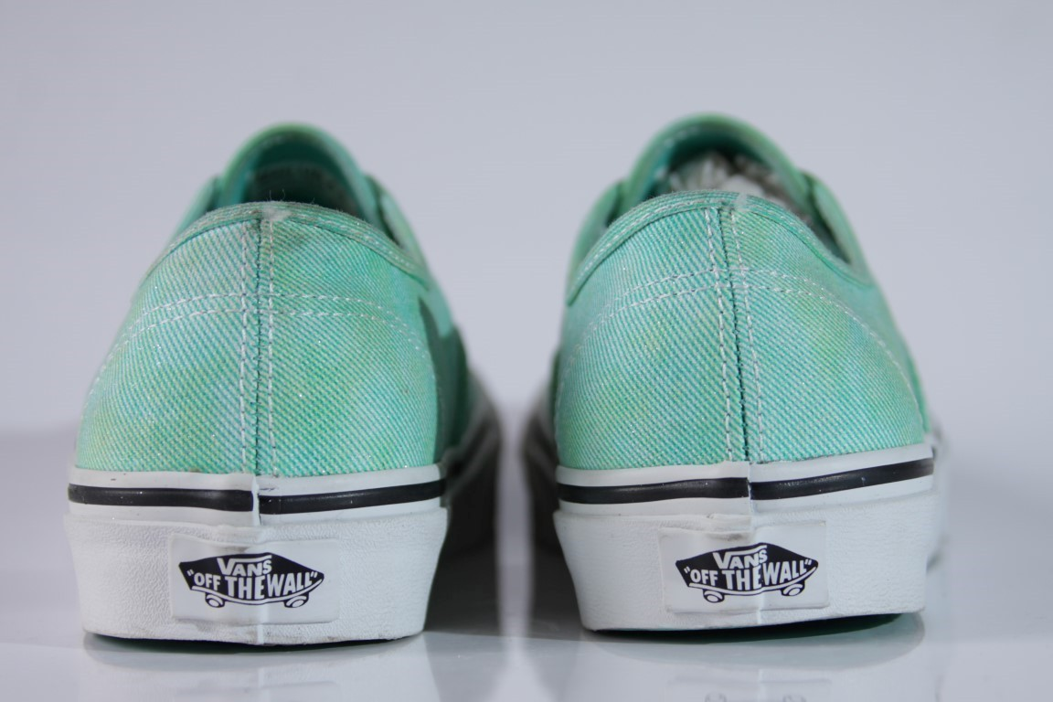 Tênis Vans - U Authentic Mint (Sparkle)  - No Comply Skate Shop