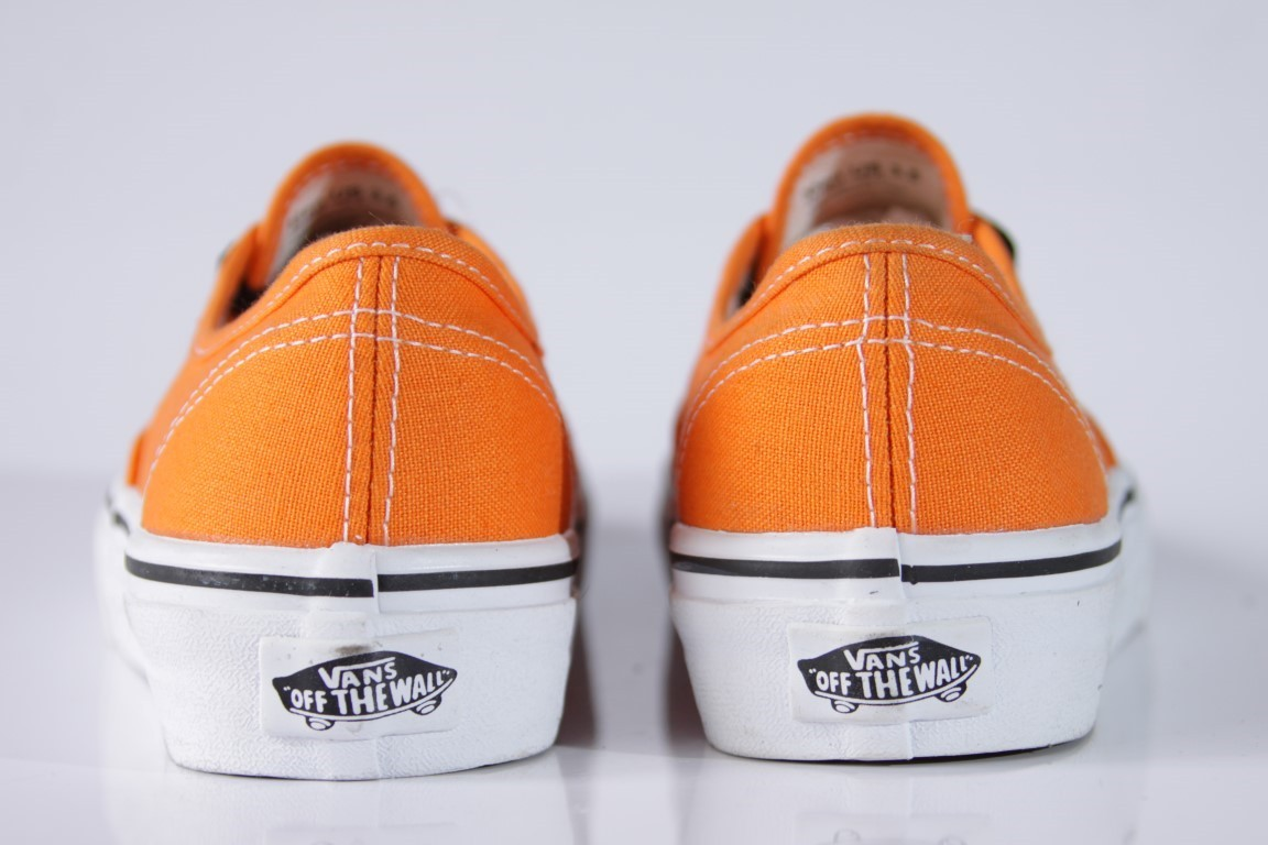 Tênis Vans - U Authentic Orange/True White  - No Comply Skate Shop